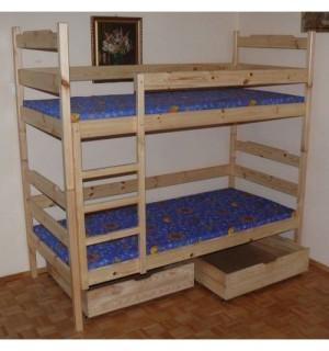 Dviaukštė dvivietė lova ELEGANCE 2
