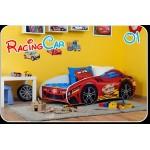 Lova-automobilis RACING CAR 150 cm