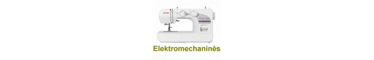 Buitinės elktromechaninės siuvimo mašinos
