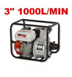Benzininis vandens siurblys 1000 l/min