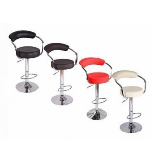Baro kėdė aptraukta EKO oda