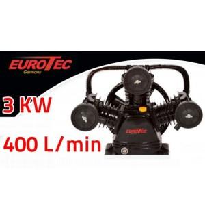 Oro kompresorius be variklio 400 l/min EUROTEC