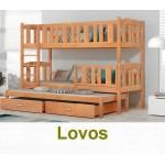 Vieno ir dviejų aukštų lovos